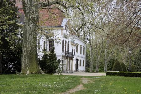 szechenyi: Szechenyi Palace in Nagycenk in Northern Hungary