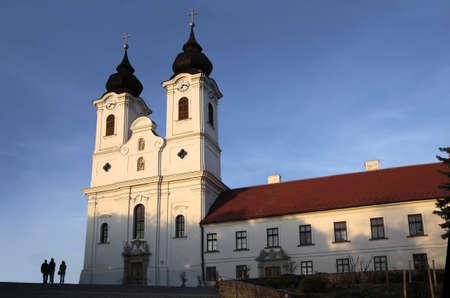 Abbey Church in Tihany photo