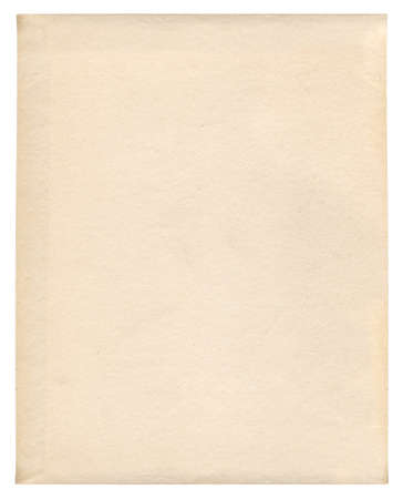 old paper, yellowed as design background, upright photo
