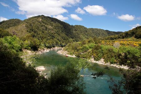 Buller Gorge, Tasman Region,  South island,  , New Zealand photo