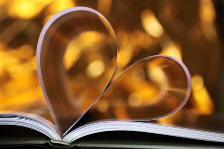 love proof: Heart book