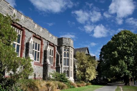canterbury: Christs College de Christchurch, Canterbury, �le du Sud, Nouvelle-Z�lande