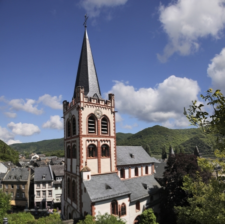 Church of Sankt Peter in Bacharach in the Middle Rhine Valley, Rhineland-Palatinate, Germany photo