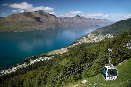 Skyline Gondola to the Bobs Peak, Otago, South island,  New Zealand
