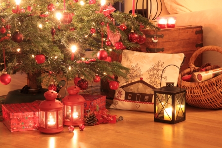 christmas atmosphere: Christmas gifts