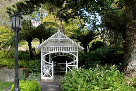 Pavillon im Botancial Garden in Wellington, New Zealand Standard-Bild - 18754363