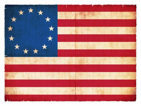 banderas america: Grunge bandera hist�rica de los EE.UU.
