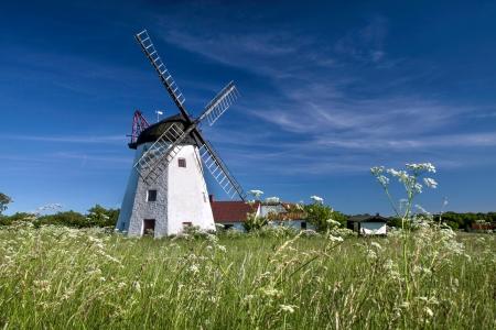 Windmill Myreagre Molle on Bornholm, Denmark