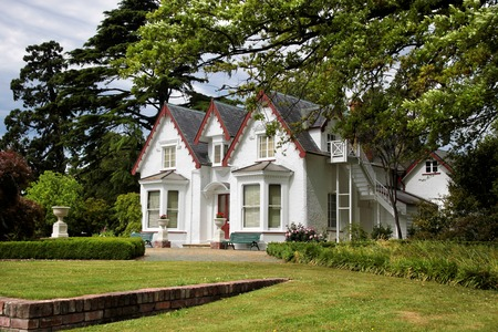 Broadgreen House and Park  near Nelson, South Island, New Zealand Stock Photo - 28848485