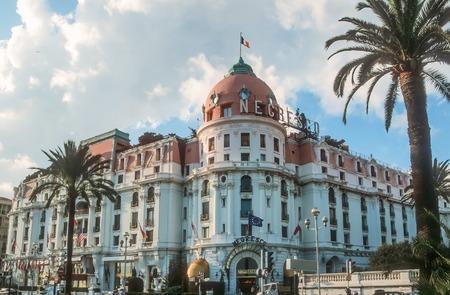 azur: Hotel Negresco in Nice, Cote Azur, France