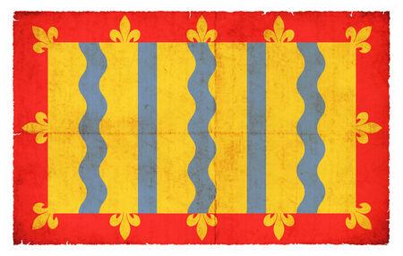 cambridgeshire: Flag of the British county Cambridgeshire created in grunge style