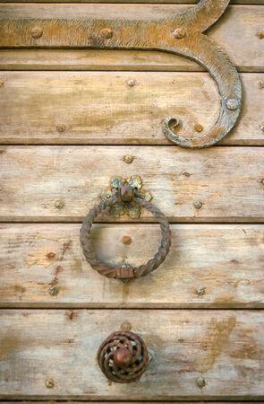 azur: Old door knocker in St  Jeannet, Cote Azur, France