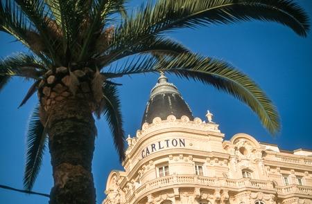Hotel Carlton in Cannes, Cote Azur, France Stockfoto