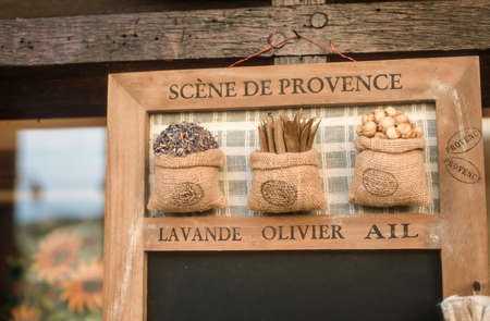 vence: Souvenir Herbes de Provence in St. Paul de Vence Cote Azur France Stock Photo