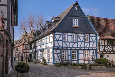 hesse: Old town of Eltville Rheingau Hesse Germany