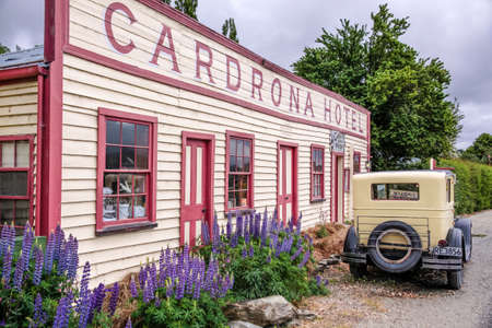 south island new zealand: Historical Cardrona Hotel, Otago, South Island, New Zealand