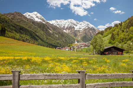 selva: The village of Selva dei Molini, Tures valley, South Tyrol, Italy