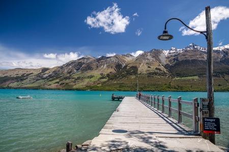 wakatipu: Lake Wakatipu at Glenorchy, Otago, South Island, New Zealand Stock Photo