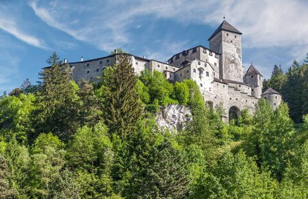 tyrol: Tures Castle in Campo Tures, South Tyrol, Italy Editorial