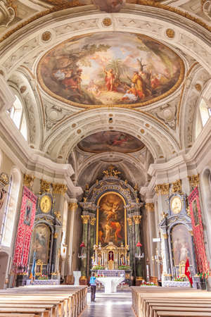 parish: Parish Church of St. Johann, Ahrntal, South Tyrol, Italy