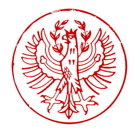 poststempel: Stempel mit dem Wappen von S�dtirol (Italien) Lizenzfreie Bilder