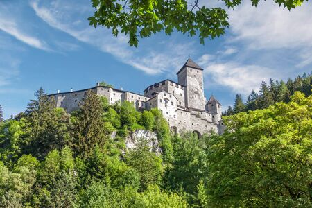 campo: Tures Castle in Campo Tures, South Tyrol, Italy Stock Photo