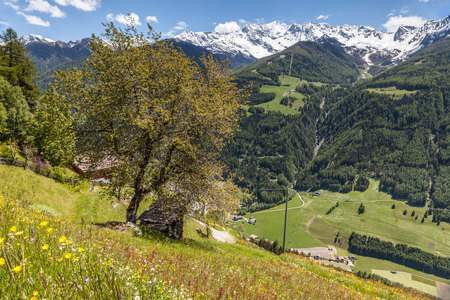 tyrol: Mountains near St. Jakob in South Tyrol, Italy