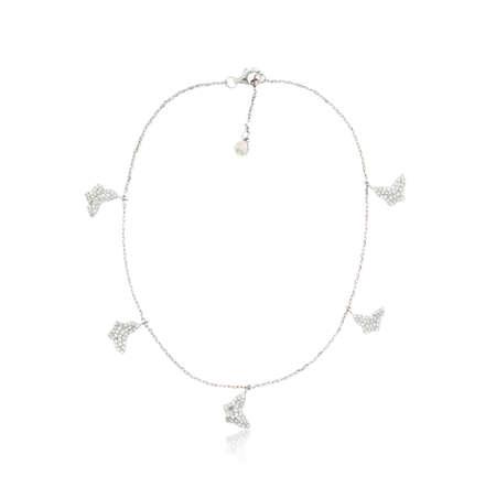 Luxurious diamond bracelet isolated white 写真素材