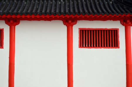 Tang Dynasty style wall