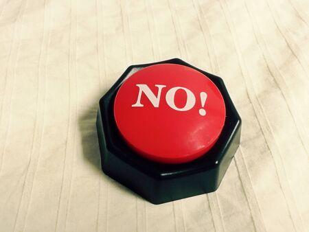No Button Reklamní fotografie