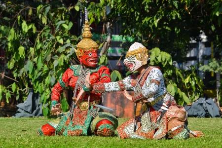Khon Show Of Ramayana