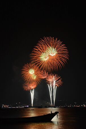 firework of thailand photo