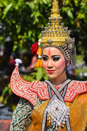 khon show in a drama ramayana of thailand southeast asia