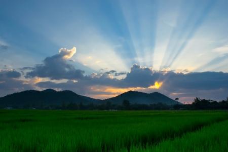 southeast asia: sunset of thailand southeast asia
