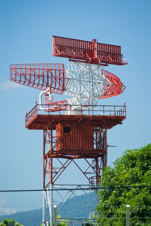 radar tower plane