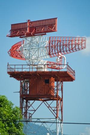 radar tower plane Stock Photo - 16432623