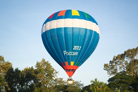 Thailand International Balloon Festival 23 -25 November 2012 at chiangmai Thailand Stock Photo - 16653253