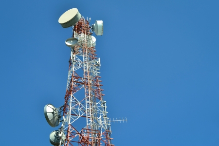 Antenna Tower of Communication photo