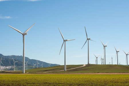 Windkraftanlagen in Andalusien, Spanien