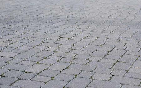 empedrado: carretera asfaltada gris Foto de archivo