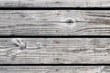 古いシルバーし、木の板の背景を風化