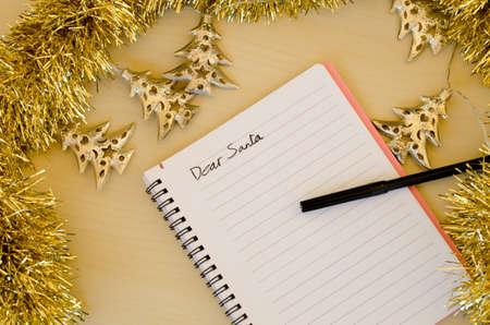 letter to santa Standard-Bild