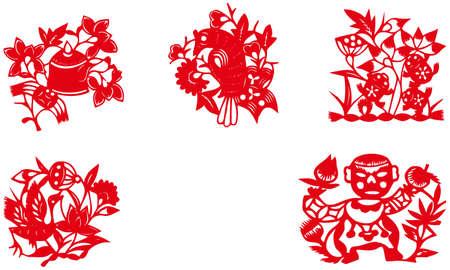 kirigami: paper-cut set three