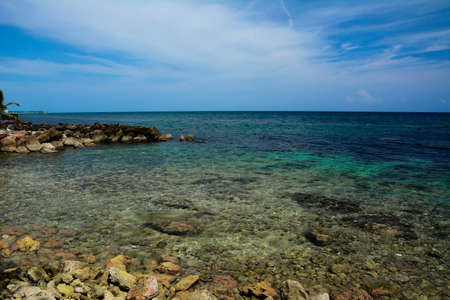 Jamaican clear waters Stock Photo