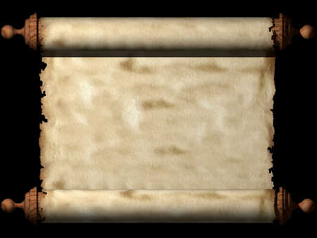 Ancient scroll photo