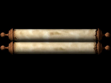 ancient scroll: Ancient scroll