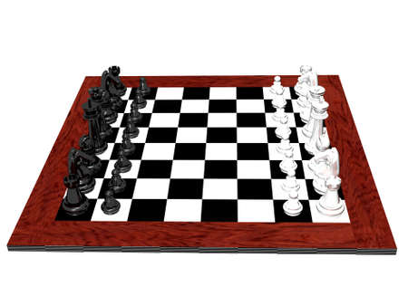 chess board: Chess game Stock Photo