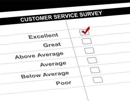 Customer service survey Stock Photo - 7870762