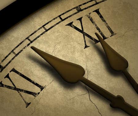 reloj antiguo: Tiempo