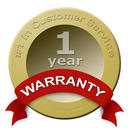 顧客サービスの保証シール
